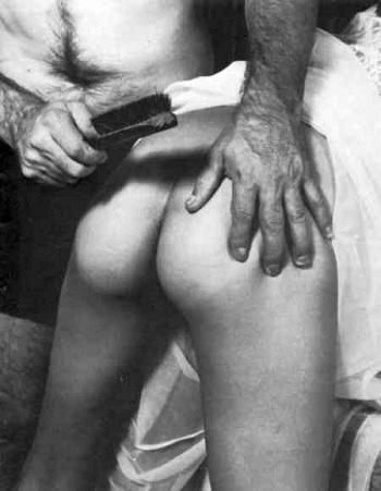 discipline spanking, disobedient female